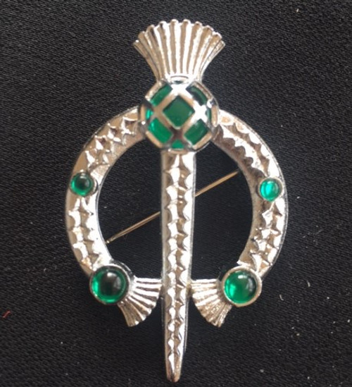 Thistle Tara Brooch