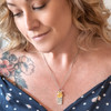 Wedding Bells Pendant Necklace