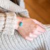 Turquoise Genuine Stone Bracelet