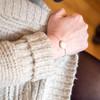 White Howlite Genuine Stone Bracelet