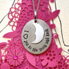 I Heart You To The Moon And Back Pendant Necklace