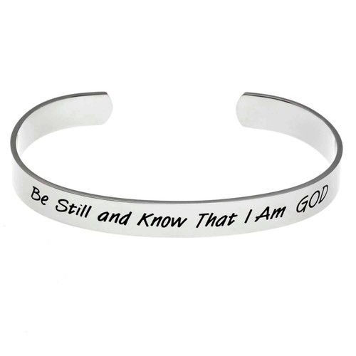 Be Still Cuff Bracelet