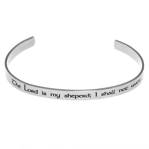PSALM:23 Cuff Bracelet