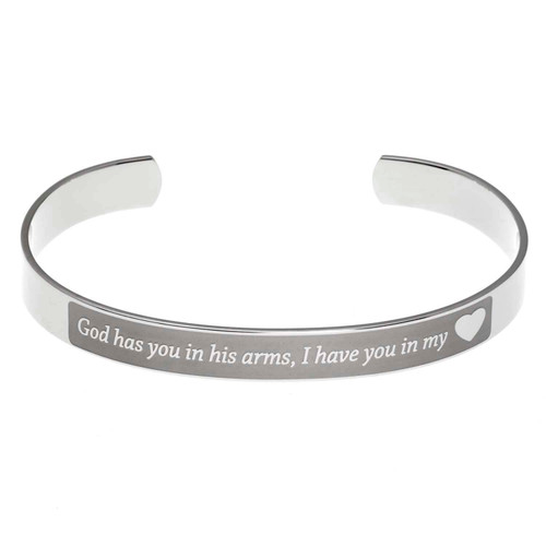 God Has You Cuff Bracelet