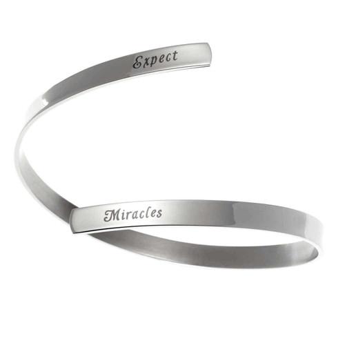Expect Miracles Bracelet Bracelets 15 Joyful Sentiments