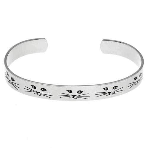 Cat Lady Cuff Bracelet