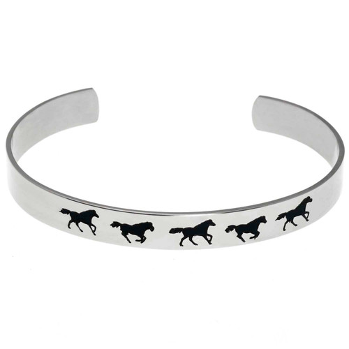 Running Horse Cuff Bracelet