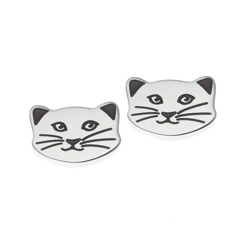 Cat Face Earrings
