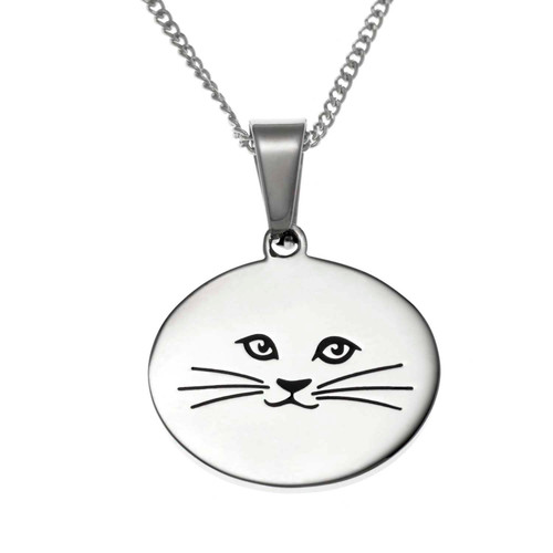 Cat Lady Pendant Necklace