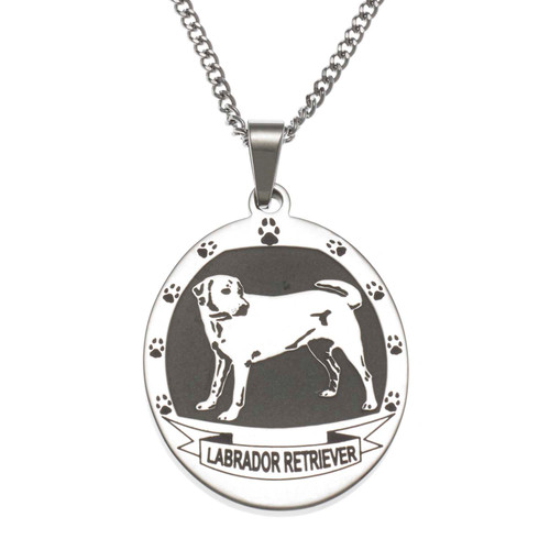 Dog Breed Pendant Necklace