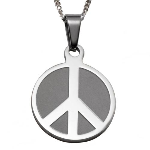 Peace Symbol Pendant Necklace