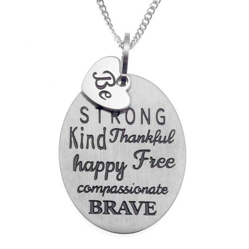 Be Pendant Necklace Pendants 25 Joyful Sentiments