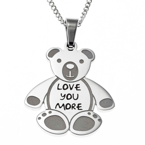 Love-You-More-Teddy-Bear-Pendant-Necklace