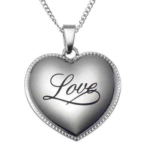 Love Heart Pendant Necklace Pendants 23 Joyful Sentiments