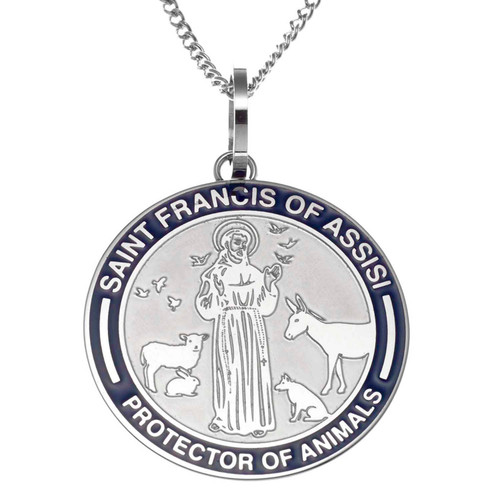 Saint Francis Pendant Necklace