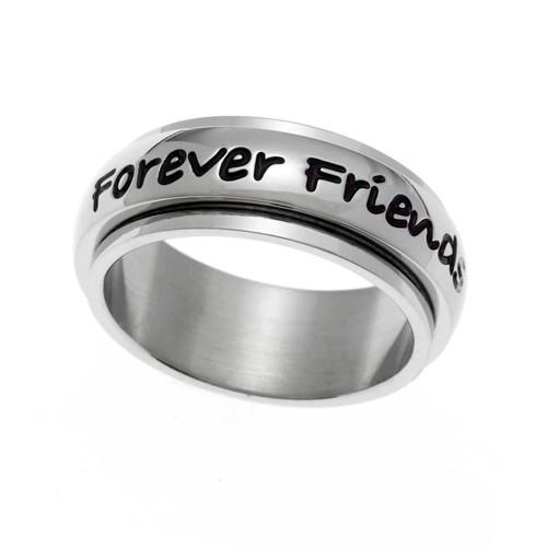 Always Sisters Spinner Ring