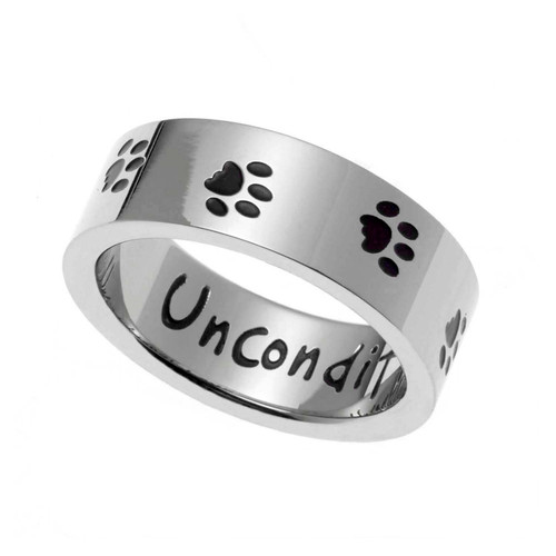 Unconditional Love Dog Ring