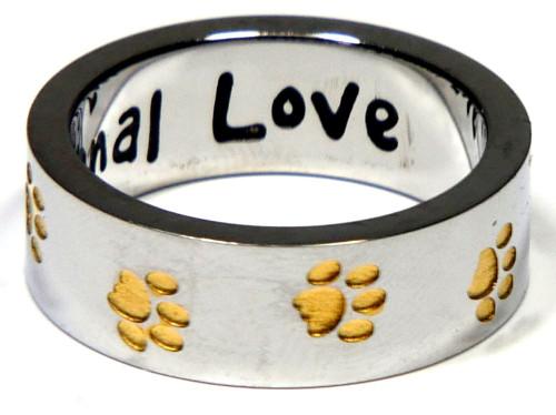Joyful Sentiments Dog Unconditional Love Cuff Bracelet