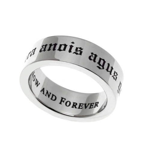 Now and Forever Poesy Ring