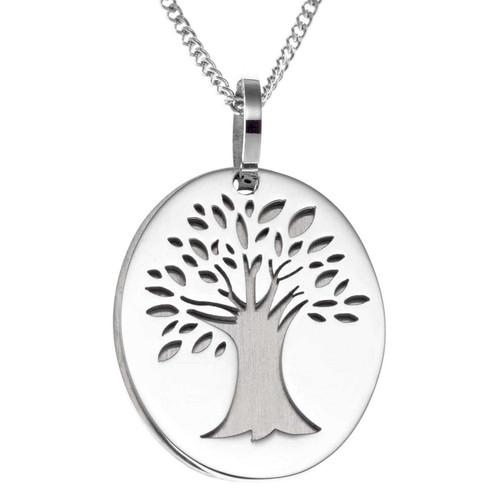 Tree Serenity Prayer Pendant Necklace Pendants 23 Joyful Sentiments