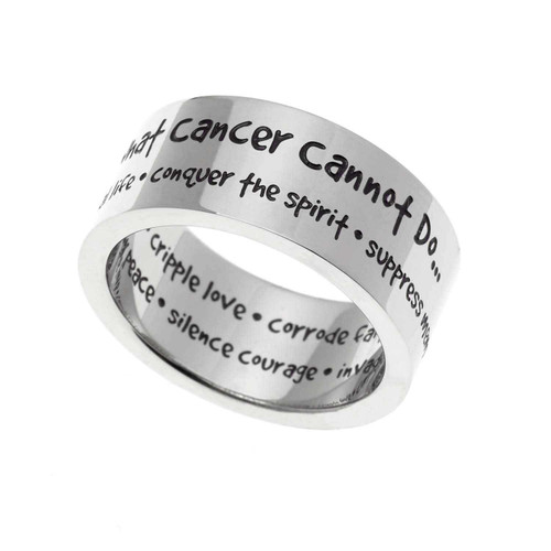 What Cancer Cannot Do Ring Rings 22 Joyful Sentiments