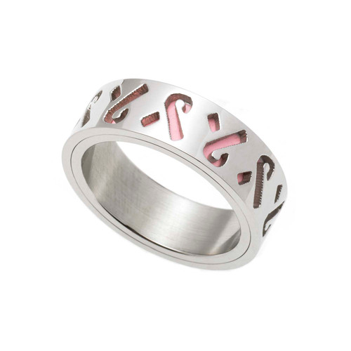 Pierced-Pink-Layered-Ribbon-Ring