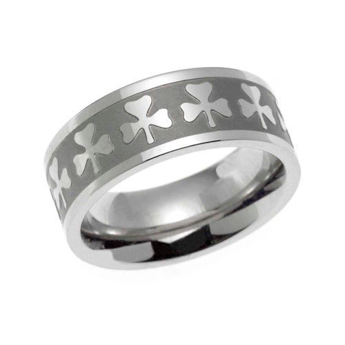 Multi Shamrock Ring