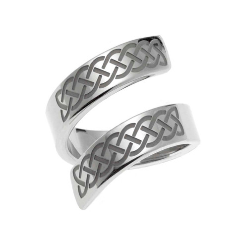 Celtic Knot Bypass Ring