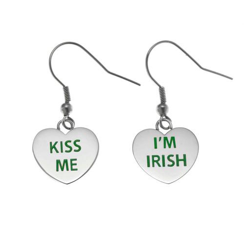 Kiss Me, I'm Irish Earrings
