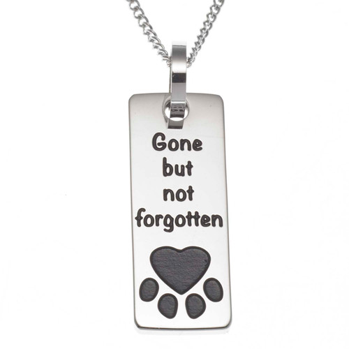 Gone But Not Forgotten Pendant Necklace