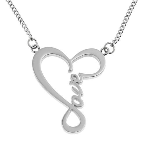 script-love-pendant-necklace-heart