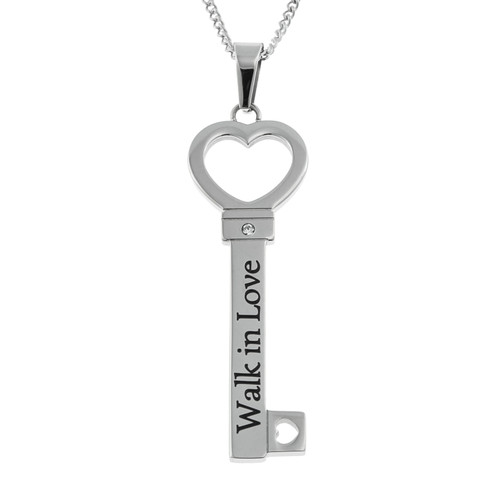 Walk-In-Love-Key-Pendant-Necklace