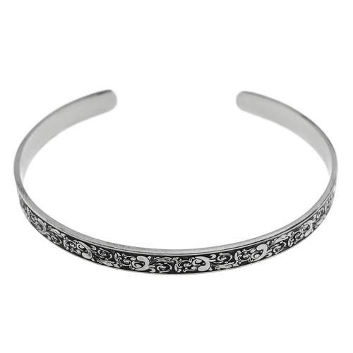 Maid-of-Honor-Floral-Cuff-Bracelet