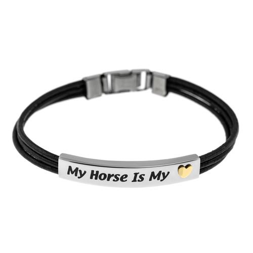 My Horse Is My Heart Bracelet
