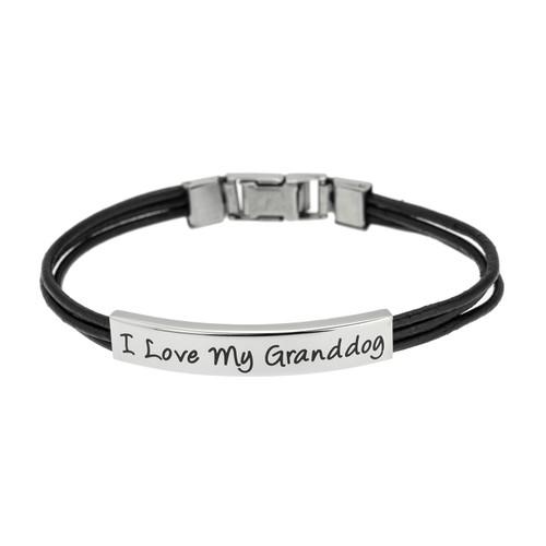 I Love My Granddog Bracelet
