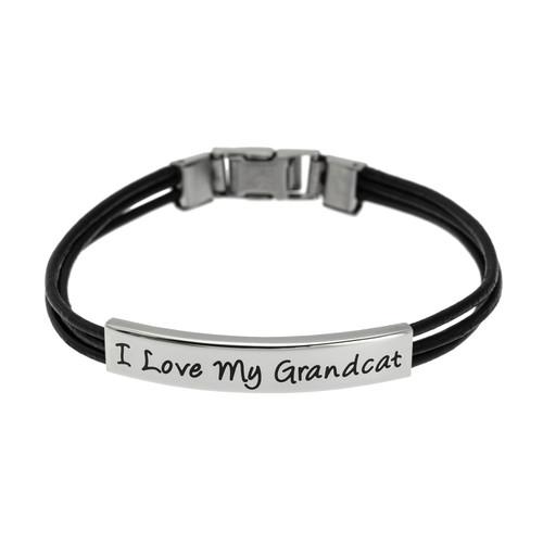 I Love My Grandcat Bracelet