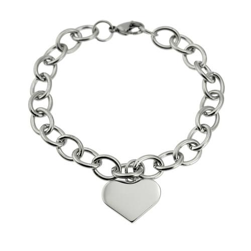 Heart-Charm-Link-Bracelet