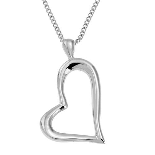 Open-Heart-Pendant-Necklace
