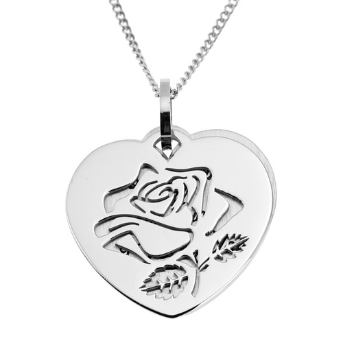 How-Much-I-Love-You-Silver-Rose-Double-Pendant-Necklace