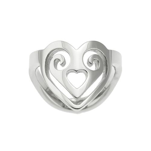 Heart-Shaped-Scroll-Thumb-Ring