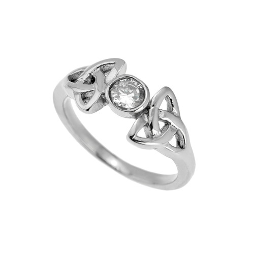 trinity-knot-cubic-zirconia-ring