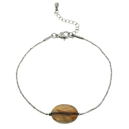 stainless-steel-Botswana-Agate-Genuine-Stone-Bracelet