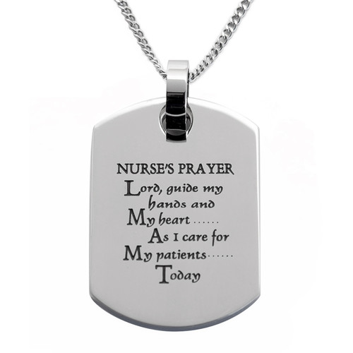 Nurse's-Prayer-Dog-Tag-Pendant-Necklace