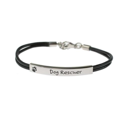 Dog Rescuer Bracelet Bracelets 20 Joyful Sentiments