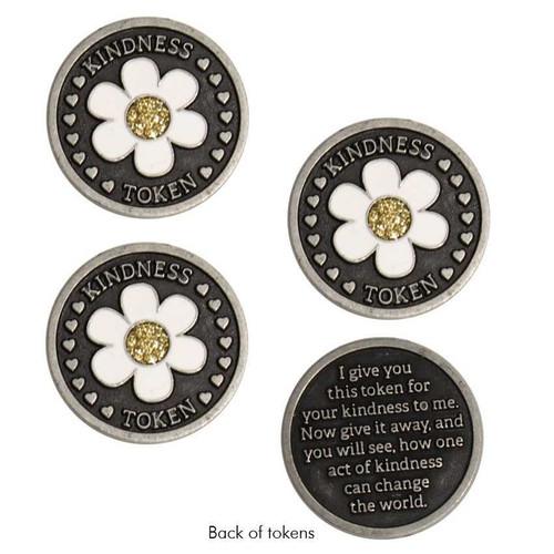 Daisy Kindness Tokens, Set of 3 Shop All 7.99 Joyful Sentiments