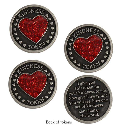 Heart Kindness Tokens, Set of 3 Shop All 7.99 Joyful Sentiments