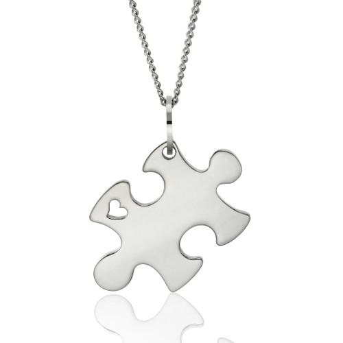 autism awareness jewelry-puzzle necklace