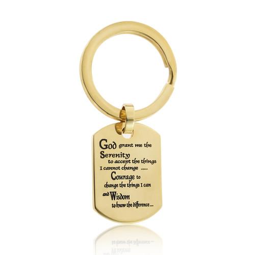 serenity prayer -prayer keyring-prayer keyring