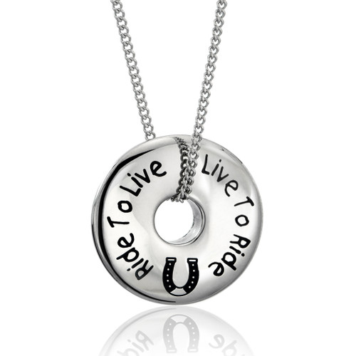 equestrian jewelry-horse pendant
