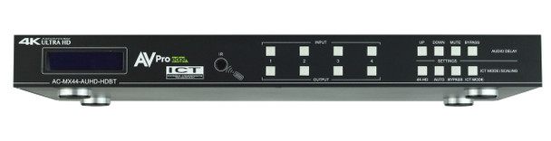 4x4 4K (18Gbps) HDMI/HDBaseT Matrix Switcher